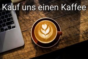 Kauf uns einen Kaffee